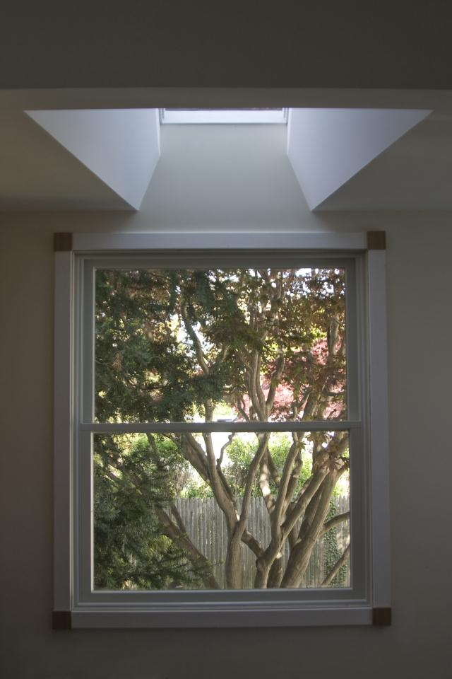 A window or skylight - adds more than just light, it adds life to a room and frames a picture.